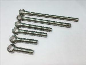 NO.38-904L 1.4539 UNS N08904 Eye Bolt, bolts ที่กำหนดเองสำหรับการประกอบวาล์ว
