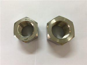 No.111- ผลิตโลหะผสมนิกเกิล A453 660 1.4980 น็อตหกเหลี่ยม