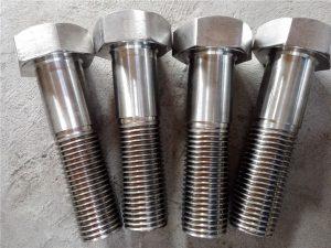 No.15-Nitronic 50 XM-19 Hex bolt DIN931 UNS S20910
