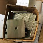 ปรับแต่งซูเปอร์เพล็กซ์ s32205 (f60) สแตนเลสเครื่องซักผ้าแผ่นสี่เหลี่ยม / สกรู