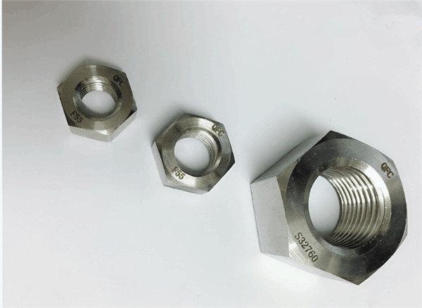 เพล็กซ์ 2205 / f55 / 1.4501 / s32760 รัดสแตนเลสหนัก hex อ่อนนุช m20